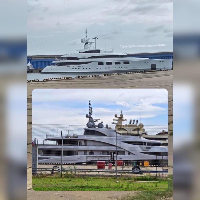 Яхта Ротенберга