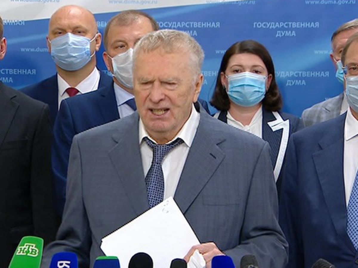 Жириновский крик о Фургале