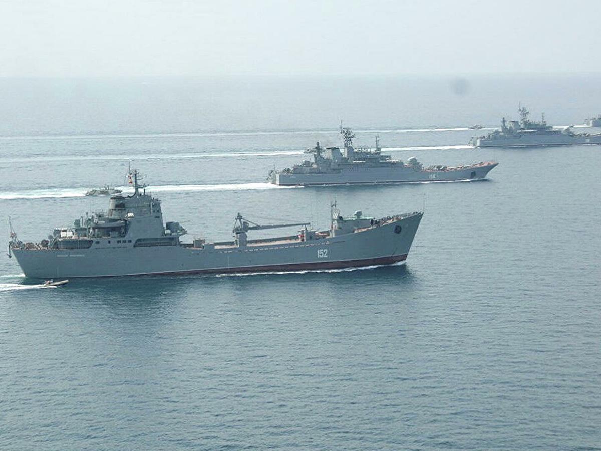 Корабли Черное море