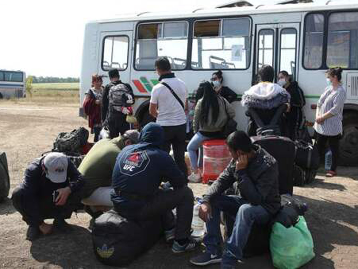 драка мигрантов в Одинцове