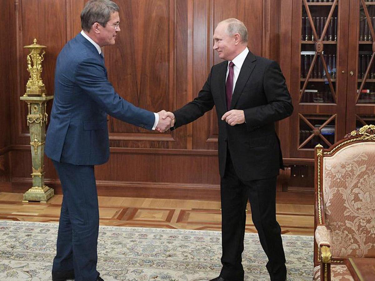 Хабиров о встрече с Путиным