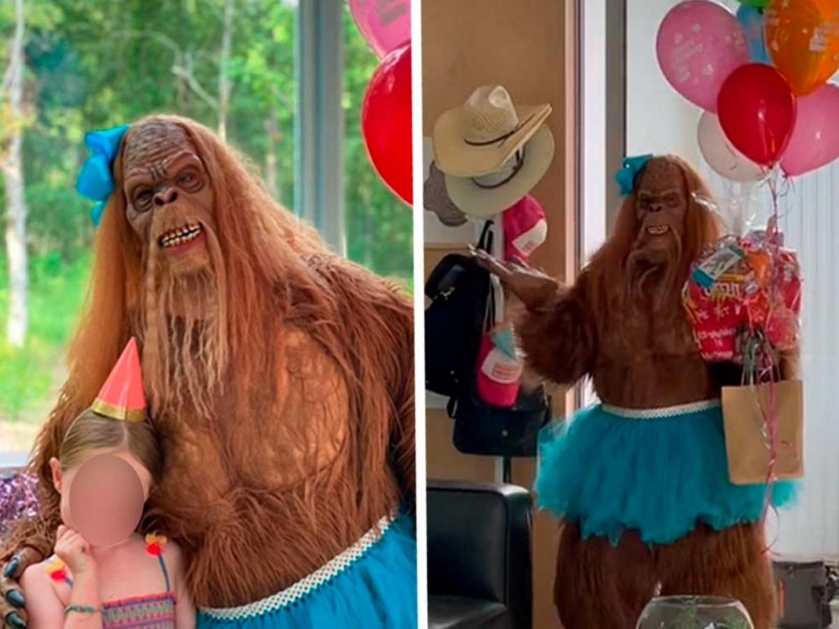 Аниматор в костюме Йети пришел на праздник и довел детей до истерики