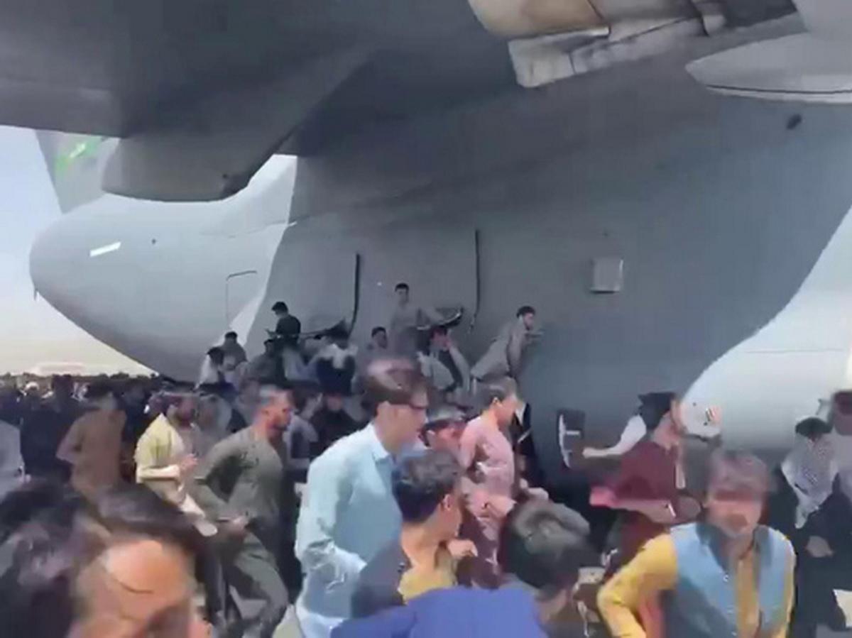 Самолет из Кабула