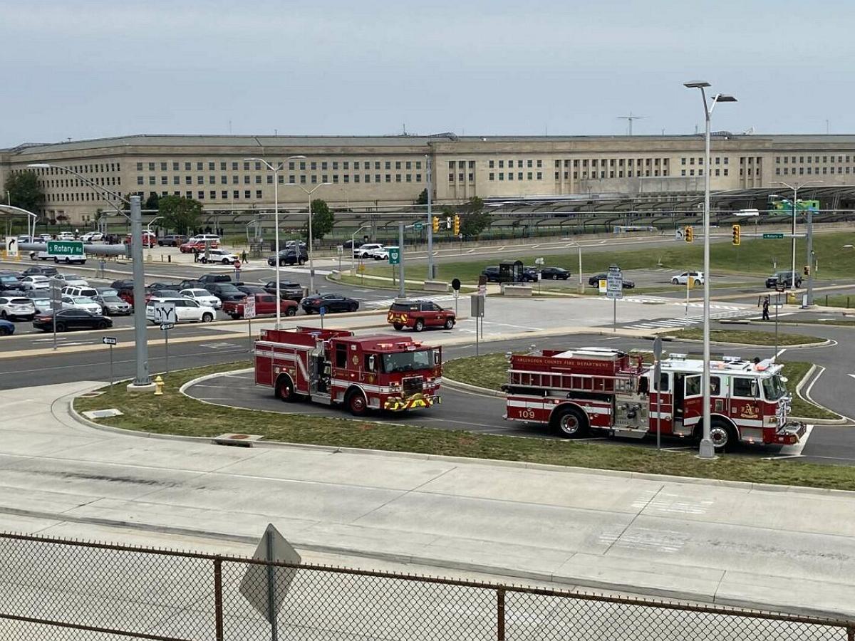 У здания Пентагона произошла стрельба, есть пострадавшие