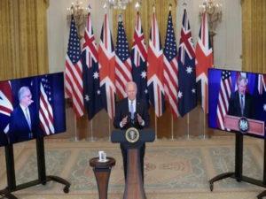 Новый оборонный альянс AUKUS США, Великобритании и Австралии вызвал гнев Украины и Франции