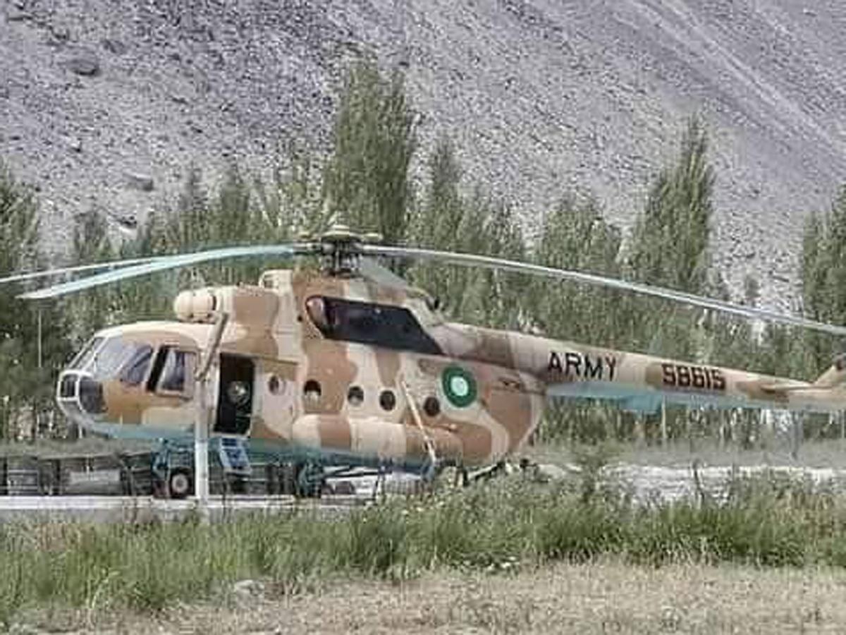 Афган Пакистан Ми-17