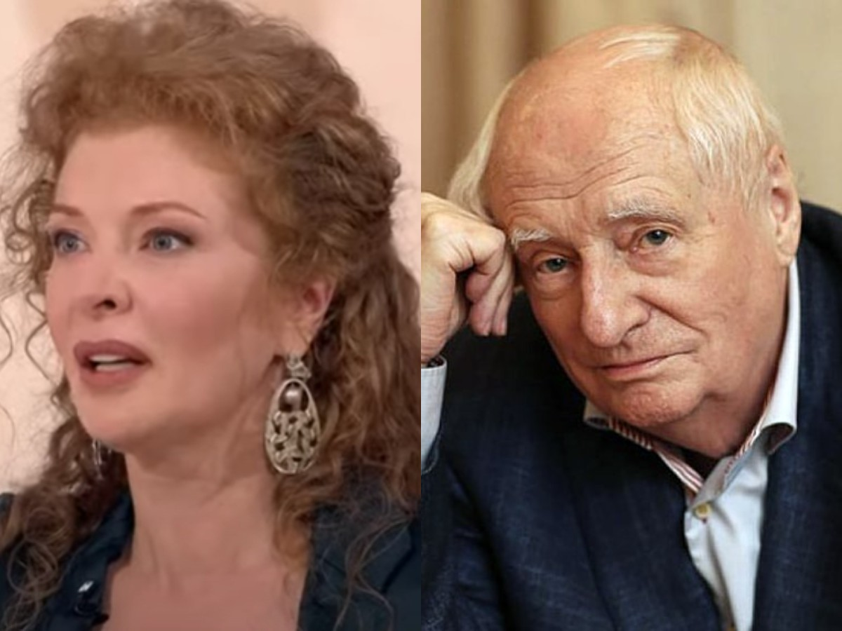 Заплаканная Амалия Мордвинова рассказала правду о романе с Марком Захаровым