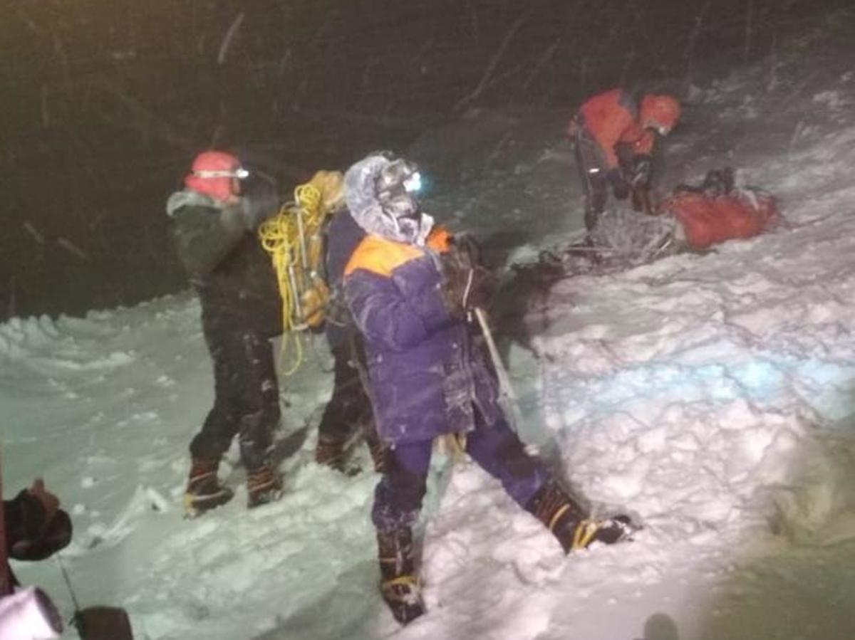 Альпинисты погибли на Эльбрусе