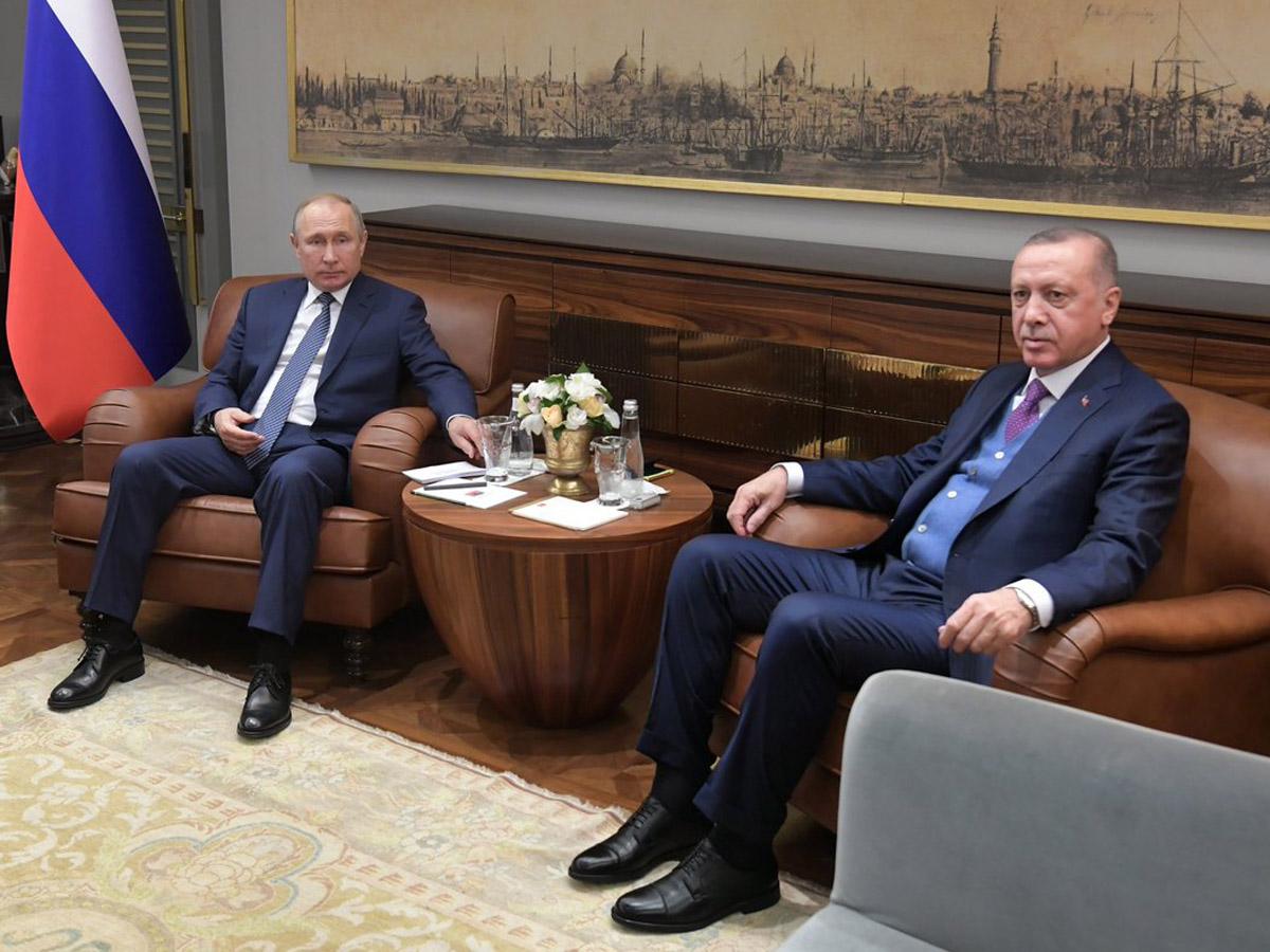 Эрдоган Путин помощь Сирия