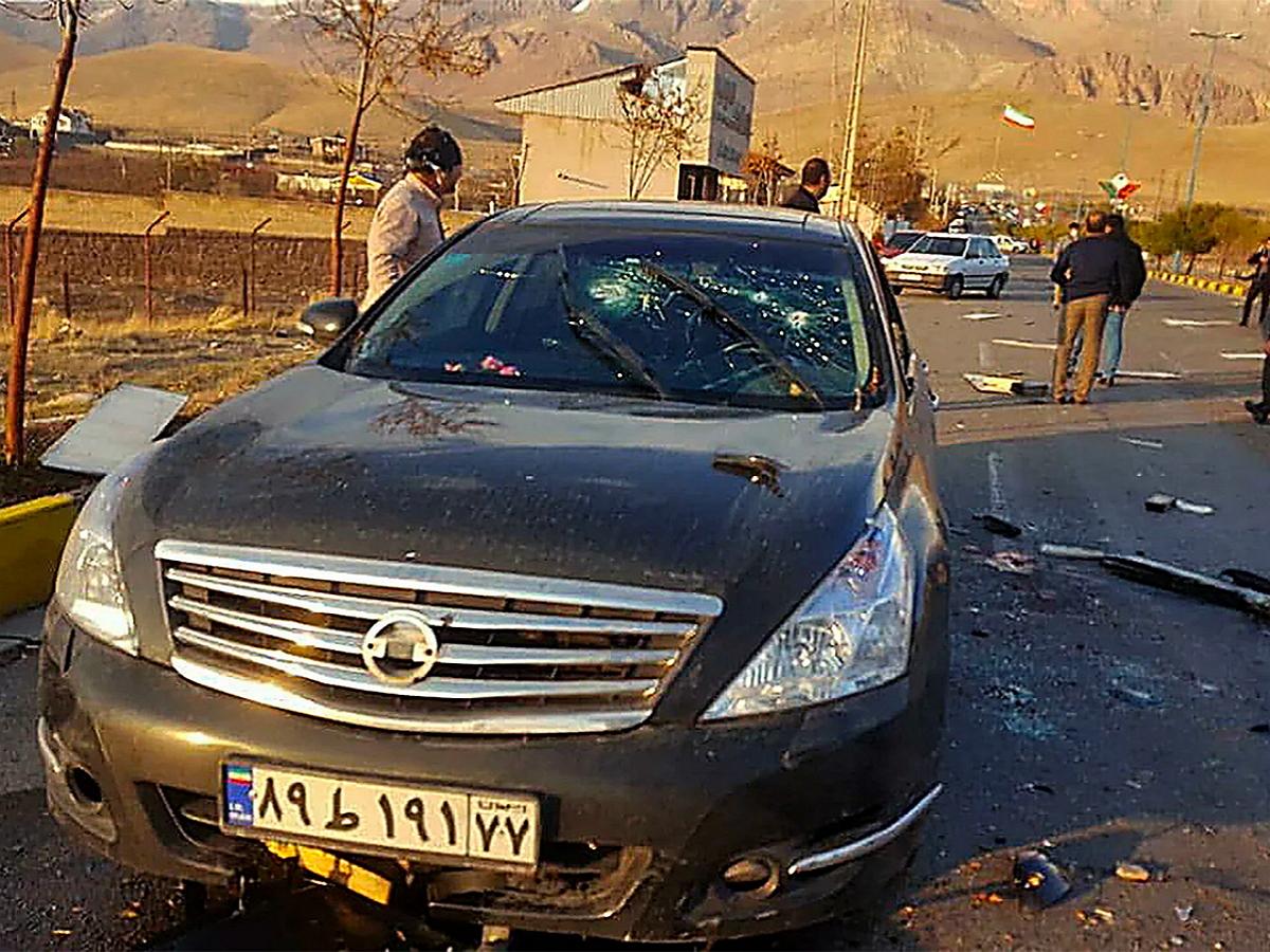 Стало известно, как был убит «отец иранской бомбы» Фахризаде