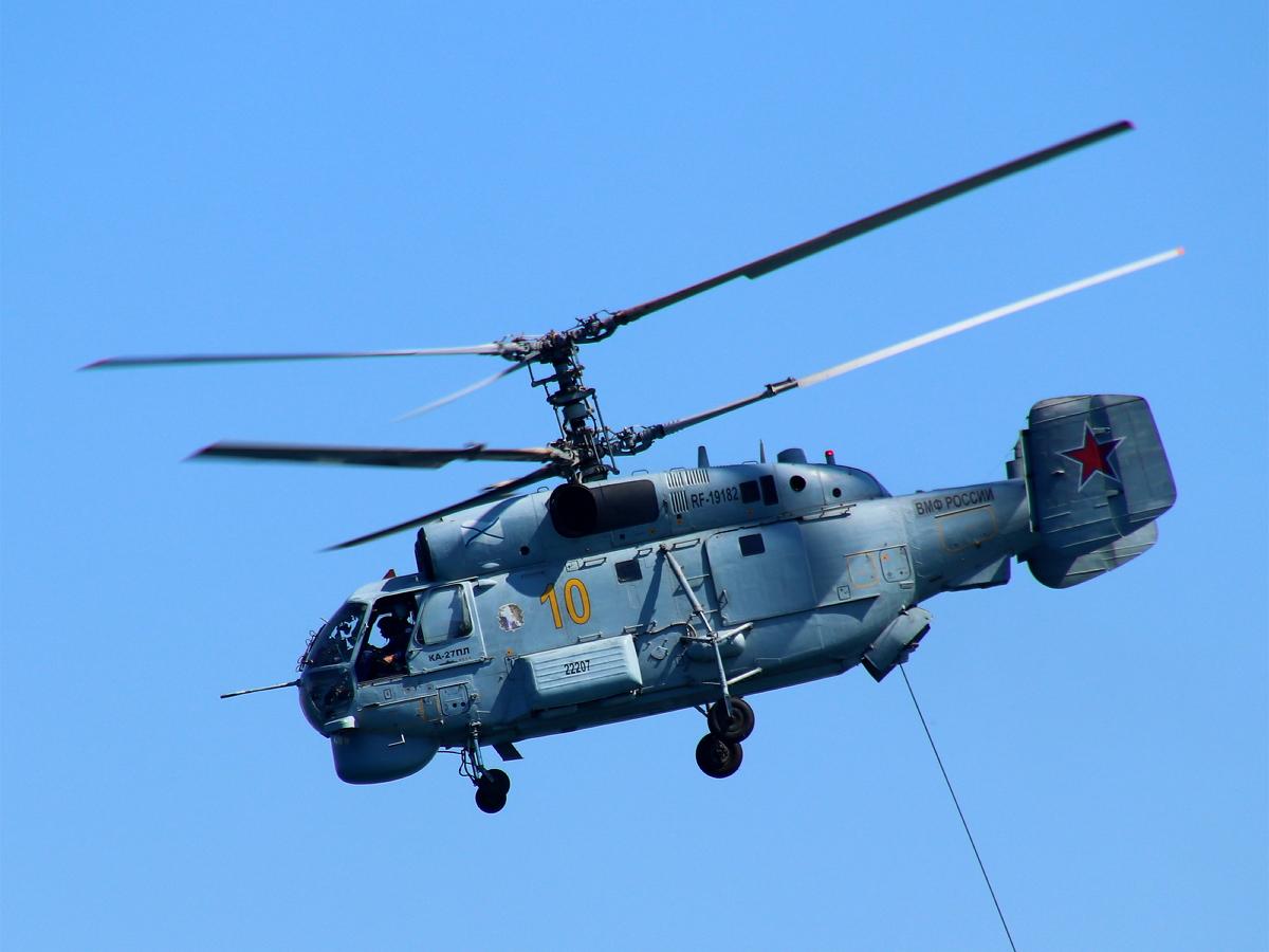 На Камчатке совершил жесткую посадку вертолет Ка-27