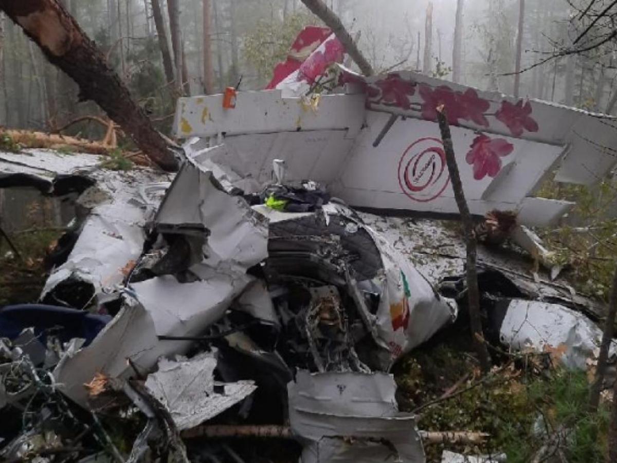 Крушение самолета Иркутская область