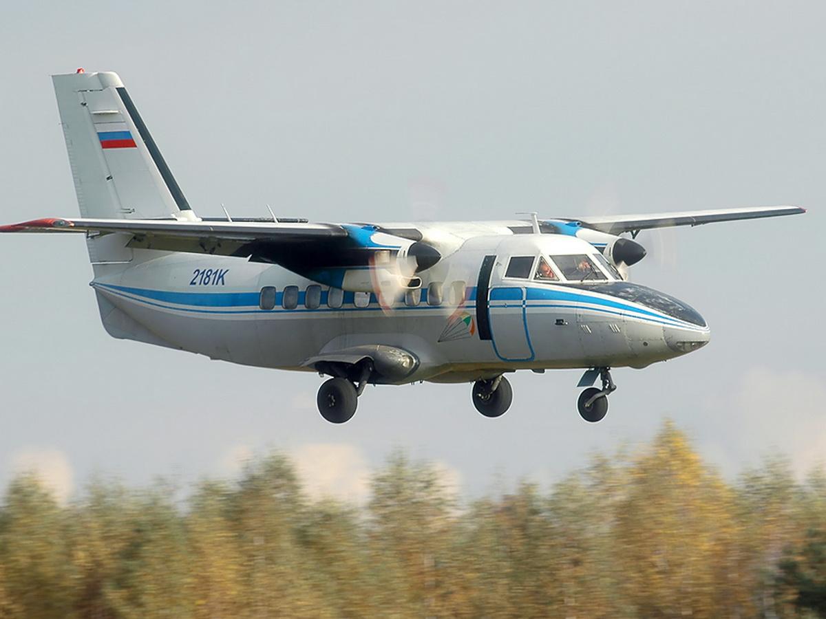Крушение самолета L-410 под Иркутском