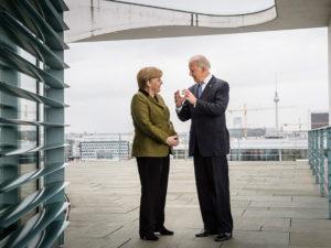 Меркель Байден