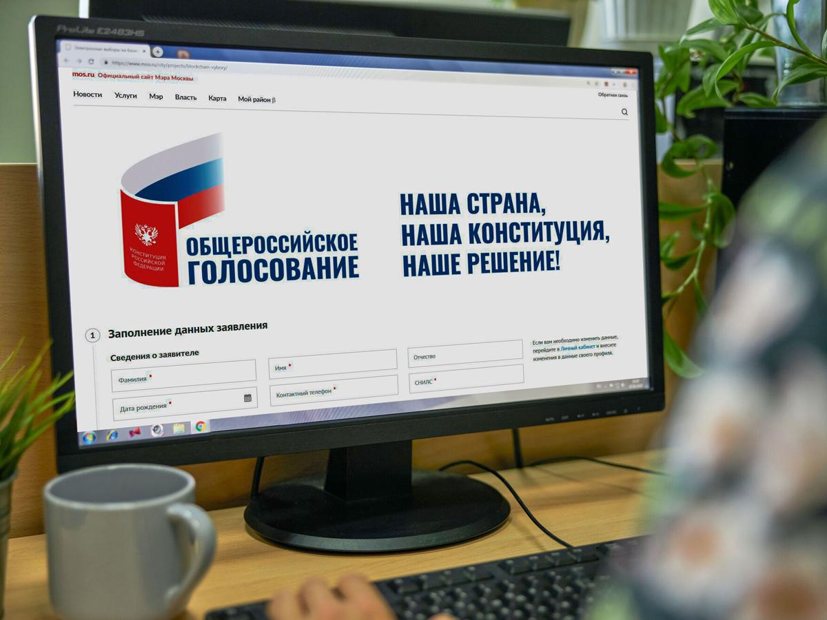 Москва электронное голосование