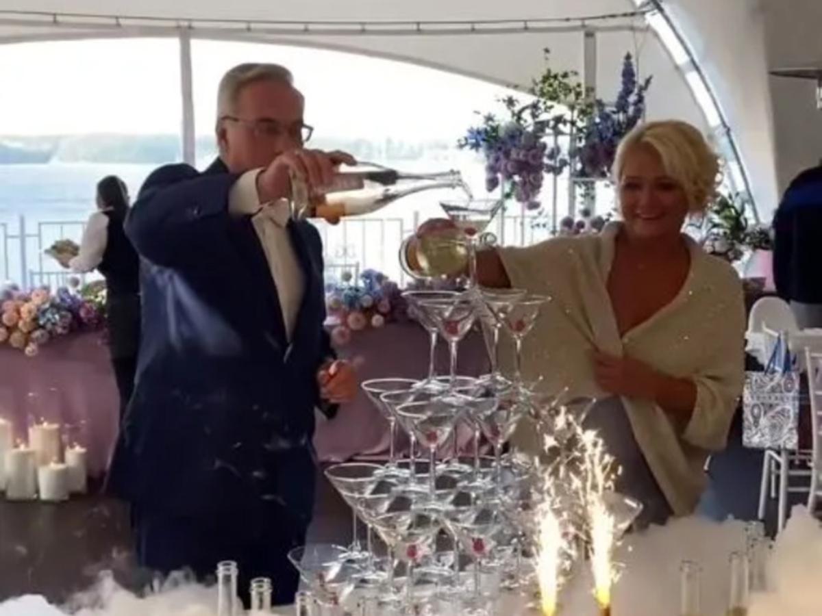Андрей Норкин и Ирина Бородина