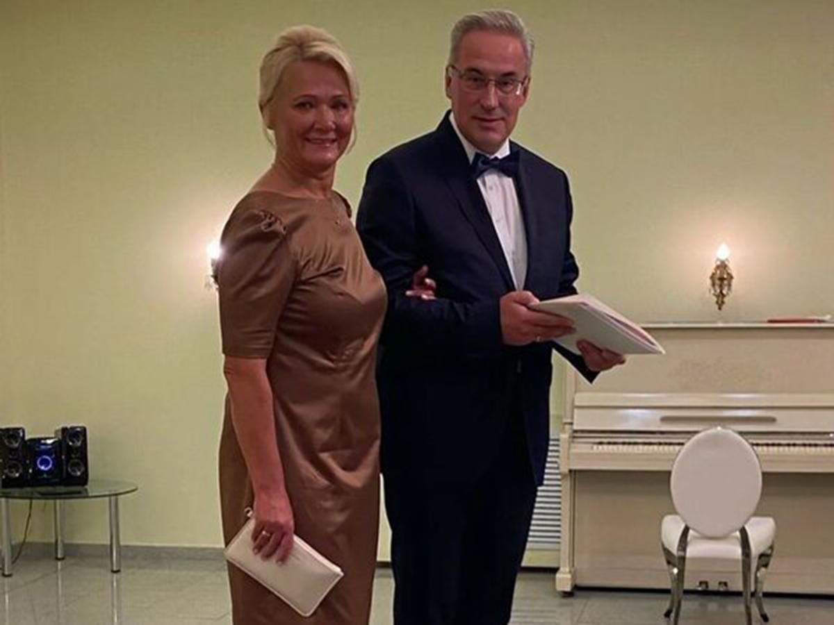 Андрей Норкин женился во второй раз через год после смерти Юлии Норкиной