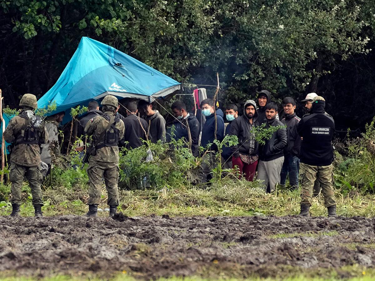 Польша ЧП граница Белоруссия