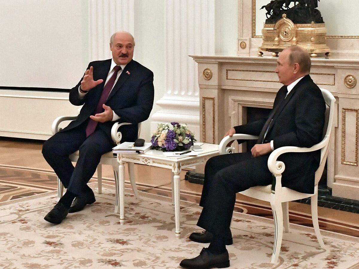 Путин Лукашенко интеграция