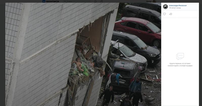 Ребенок после взрыва в Ногинске