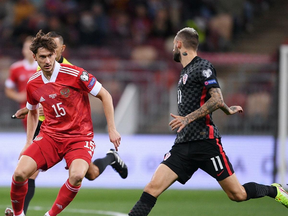 Сборная России сыграла вничью со сборной Хорватии
