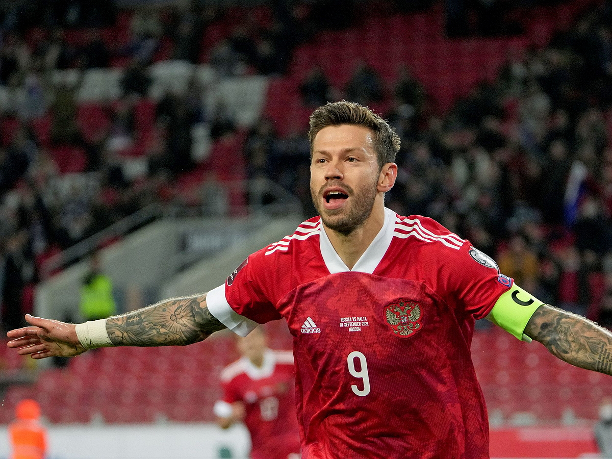 Россия обыграла Мальту в отборочном матче ЧМ-2022
