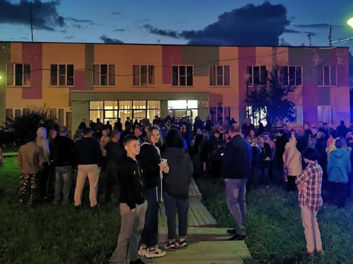В подмосковном Бужанинове после убийства пенсионерки закрыли общежитие для мигрантов