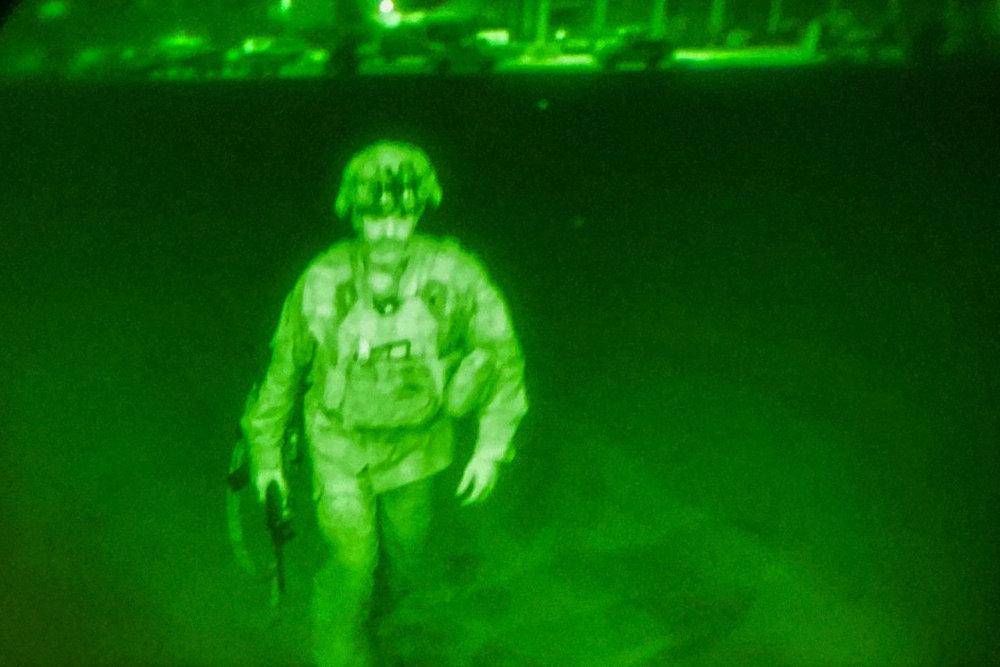 Последний военный США в Афганистане