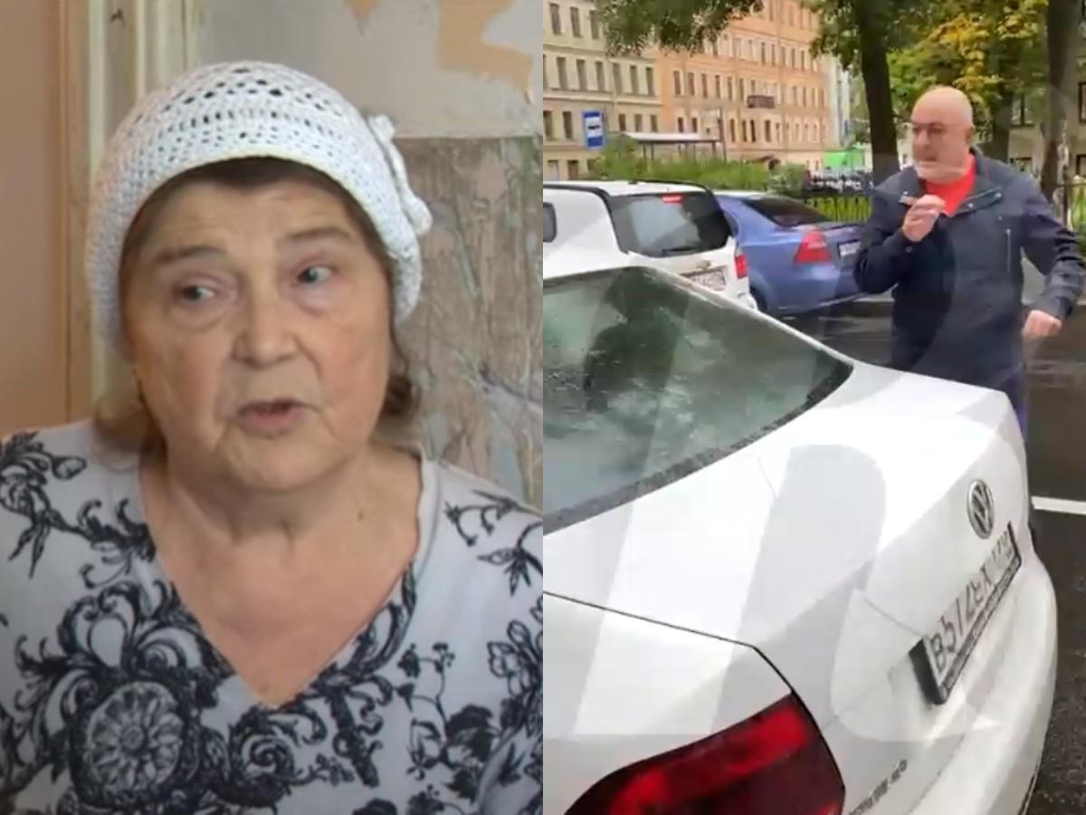 Водитель соцтакси в Петербурге напал на пенсионерку и плюнул ей в лицо