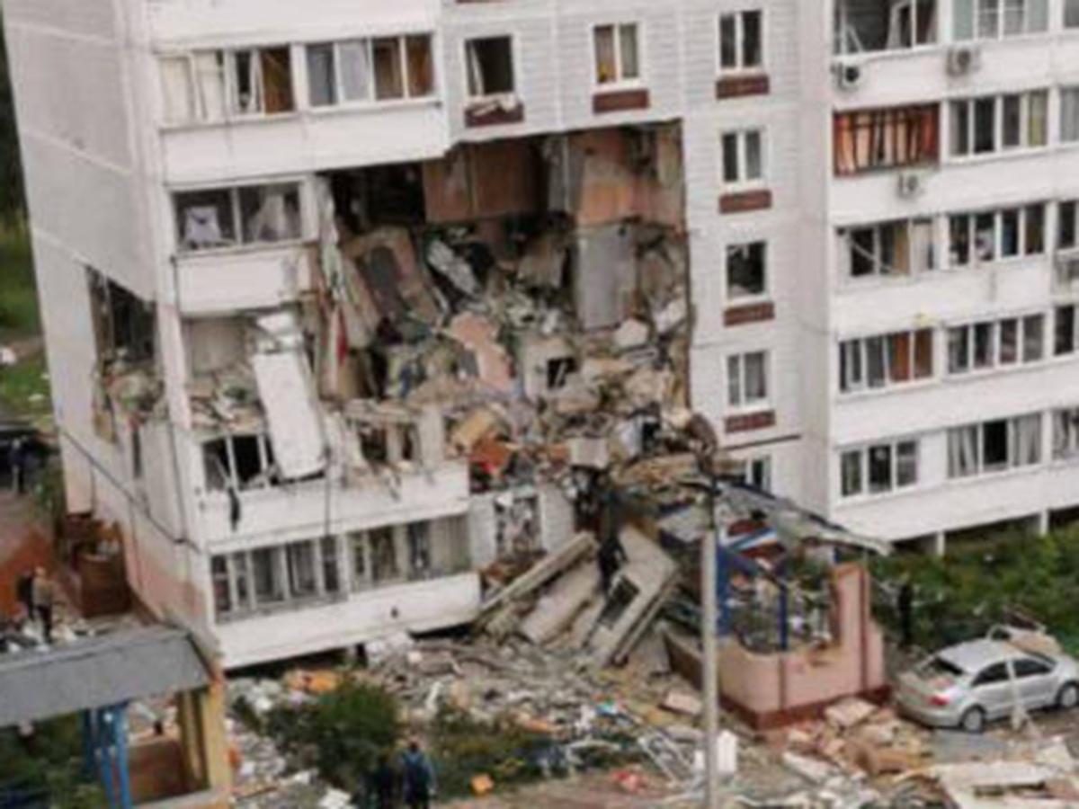 Взрыв бытового газа Ногинск
