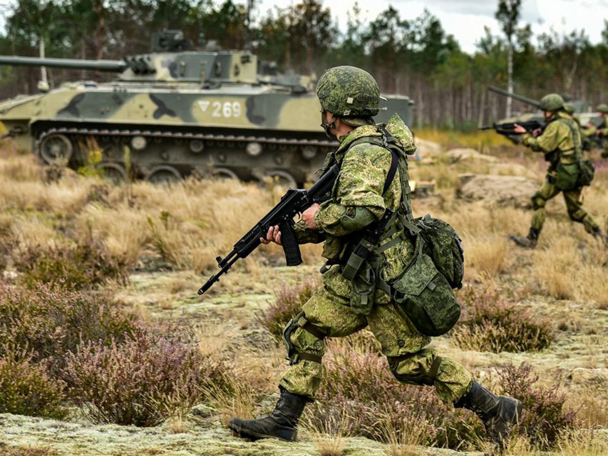 Армия России учения