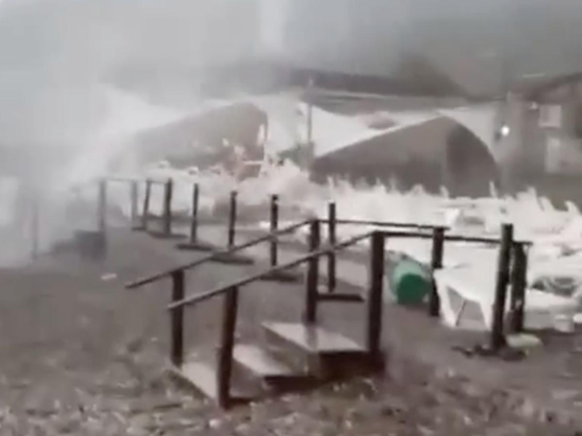 Ураган Сочи