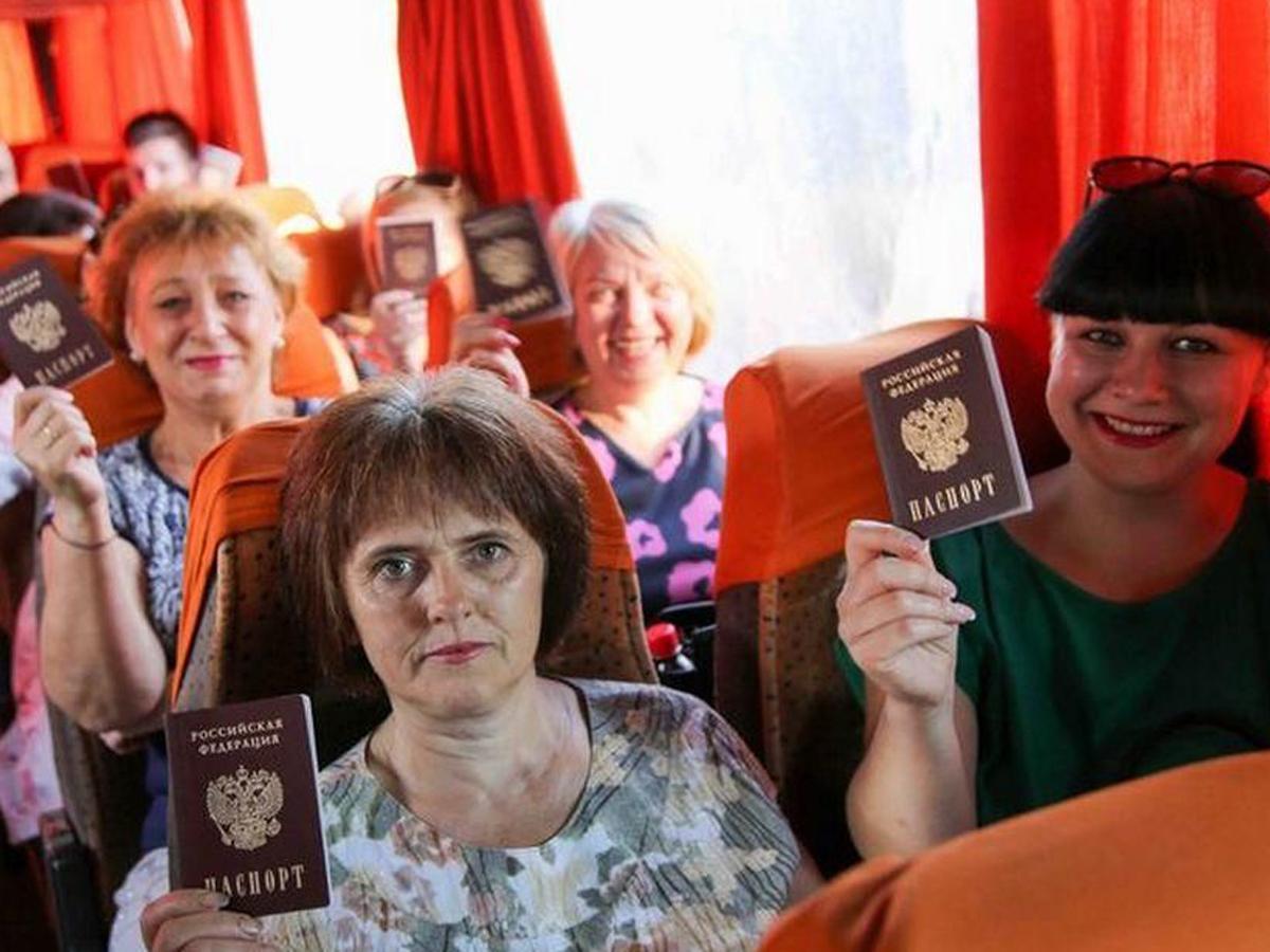 Жители Донбасса выборы в РФ