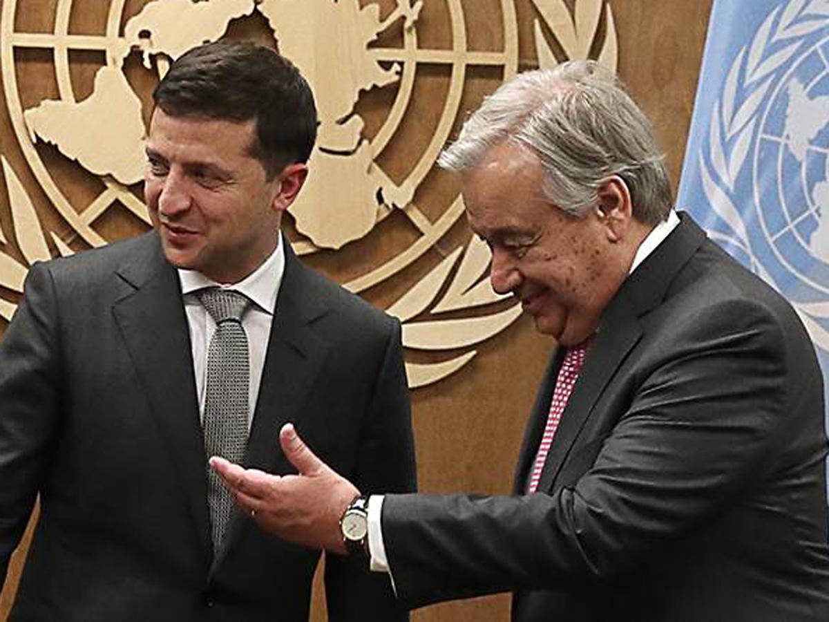 Зеленский Украины унизили в ООН
