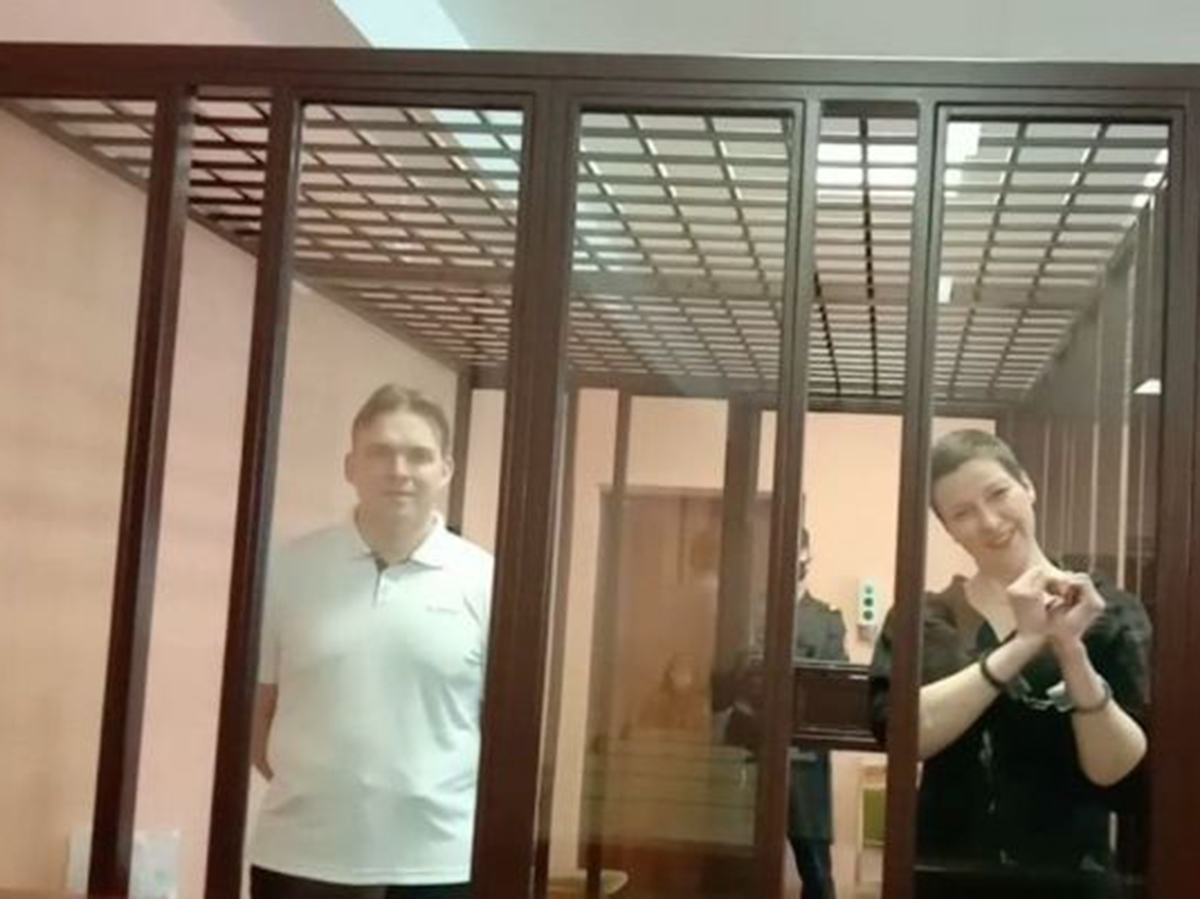 Лидеры протеста в Белоруссии Знак и Колесникова получили 10 и 11 лет тюрьмы