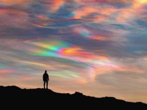 аномальные облака в Исландии