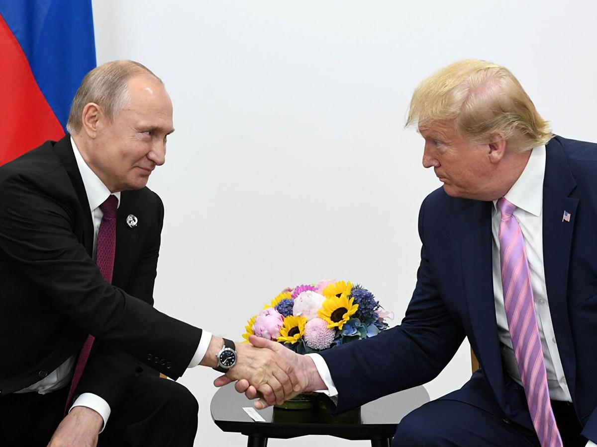 кашель Путина при Трампе