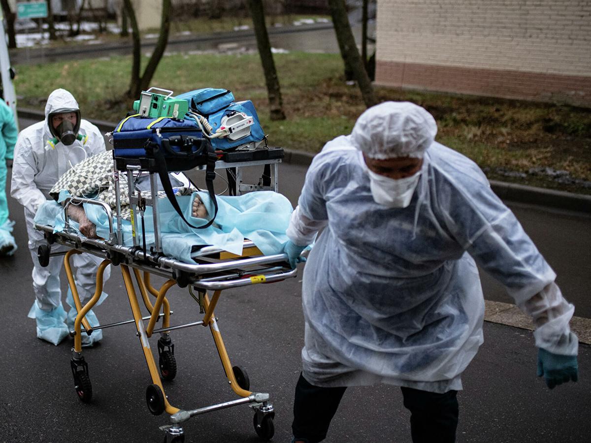 коронавирус РФ рекорд смерти