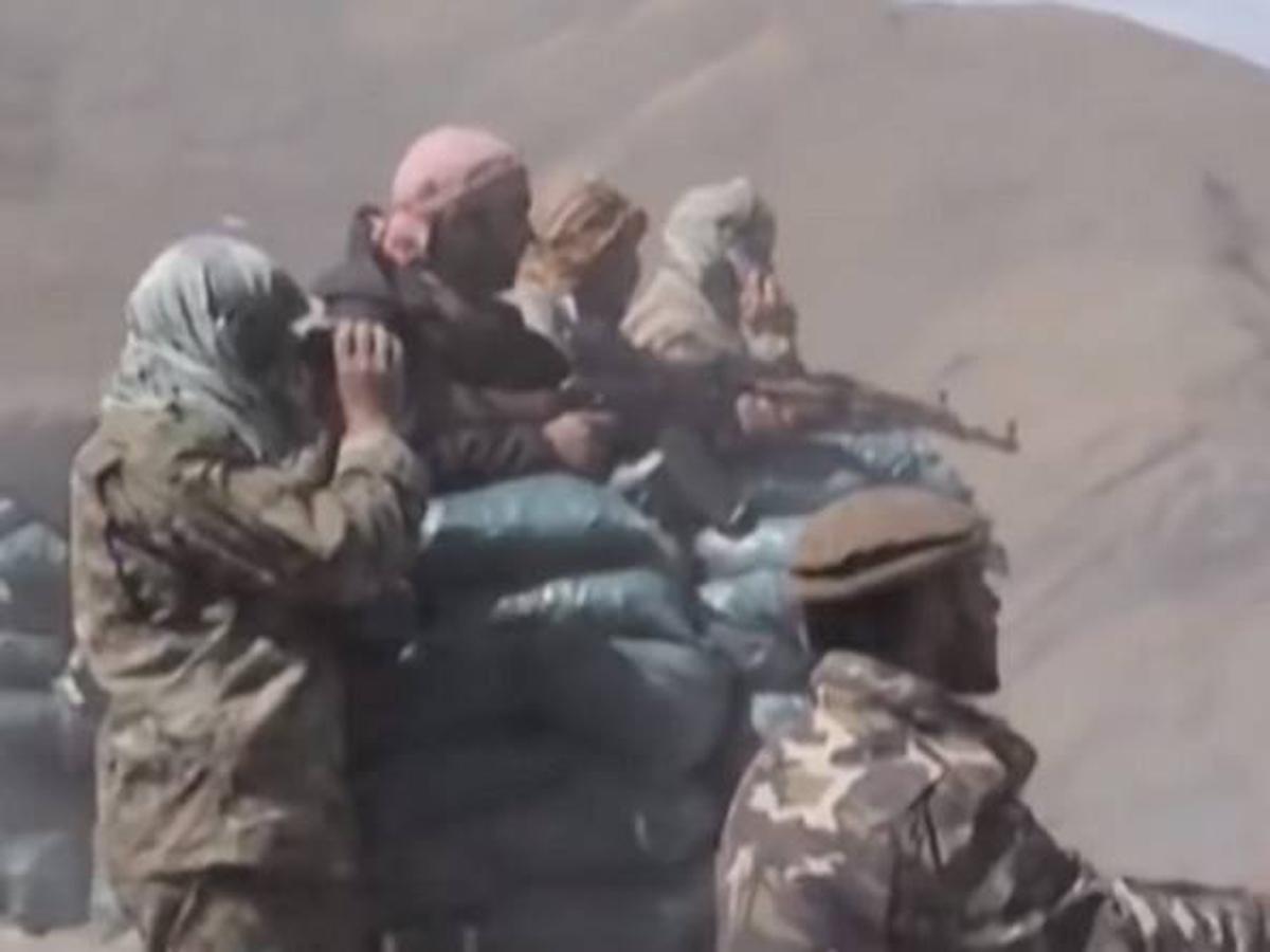 отряд талибов засада