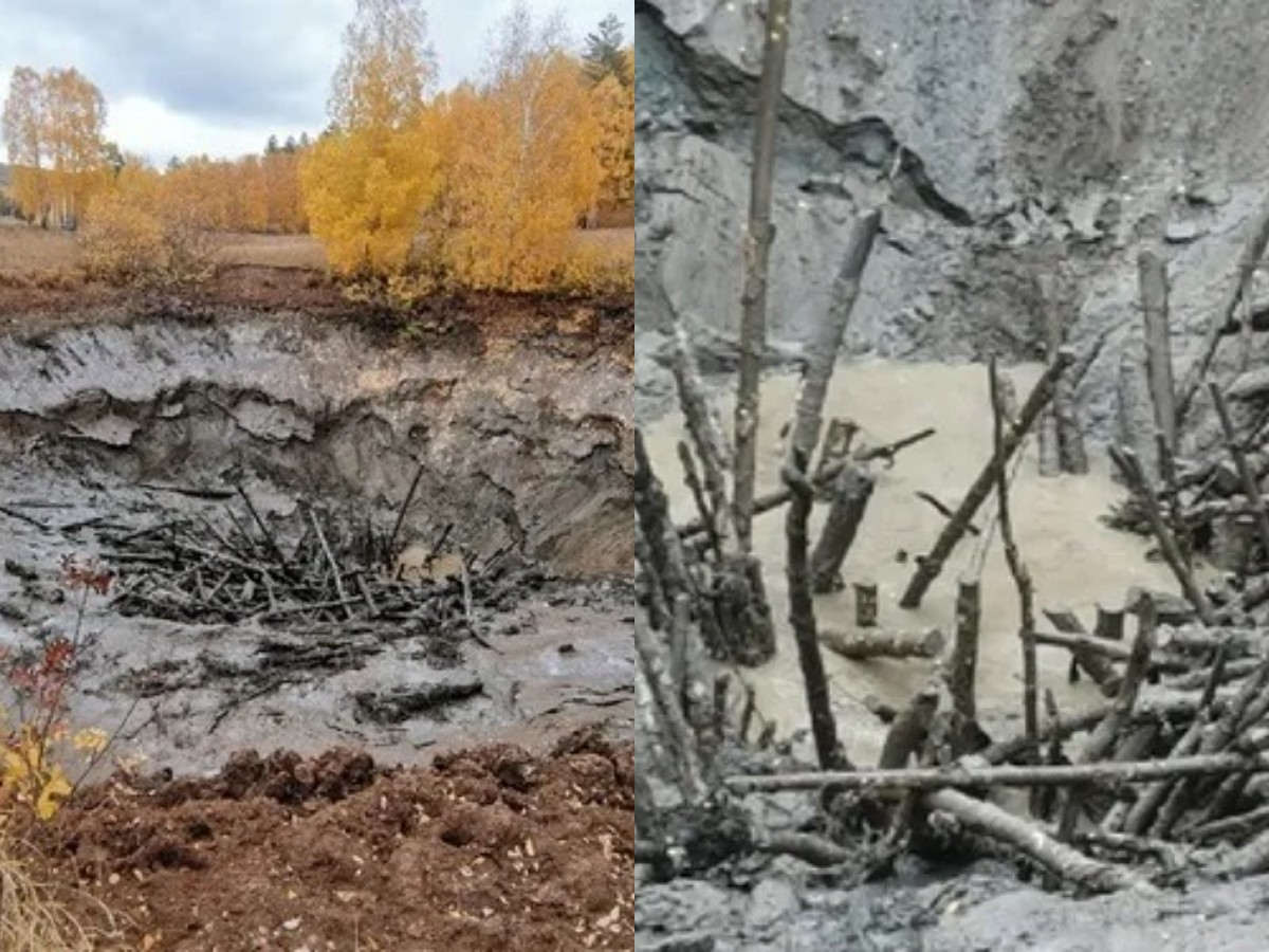 Жителей Башкирии напугало исчезновение за ночь целого озера