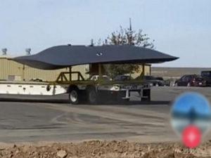 В США на видео попал загадочный истребитель неизвестной модели