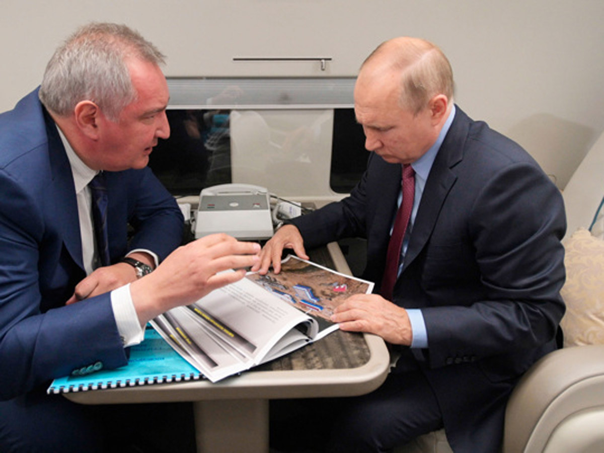 вертолет Путина