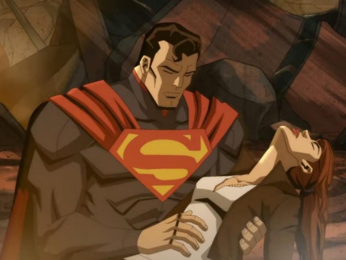 """Супермен снова ступит на тропу войны в новом трейлере мультфильма """"Несправедливость"""""""