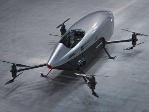 Первую гонку летающих автомобилей сняли на видео