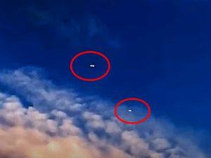 НЛО в форме таблетки пролетели над Флоридой