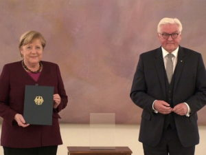 Меркель официально ушла с поста канцлера Германии