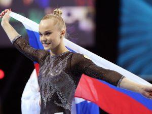 Россиянка Анастасия Мельникова завоевала золото на ЧМ по спортивной гимнастике