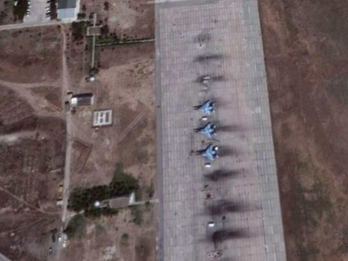 Авиабаза Израиль Азербайджан