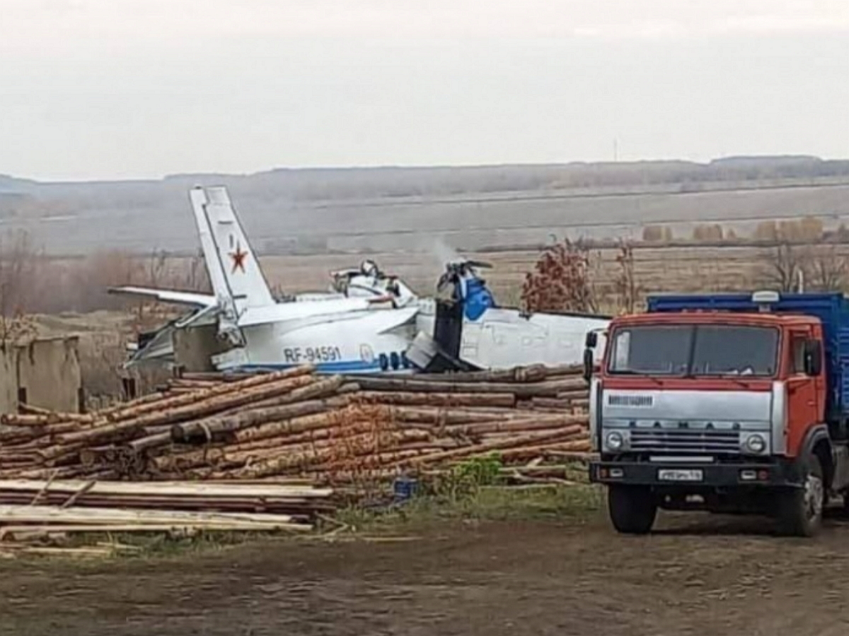 В Татарстане разбился самолет Let L-410: погибли 16 человек