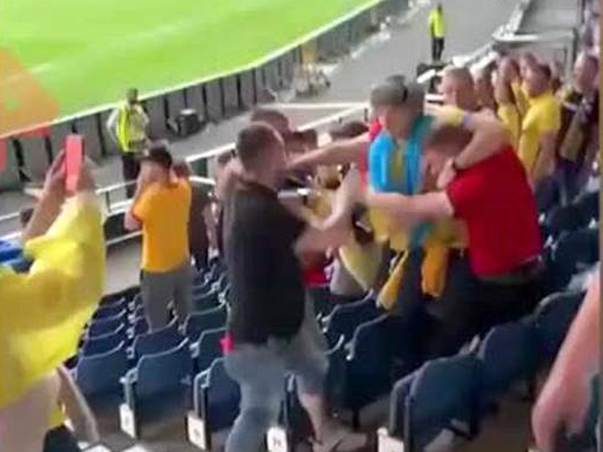Марибор напали на болельщика РФ